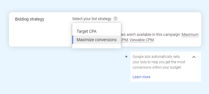 YouTube Ads = Bidding Strategy